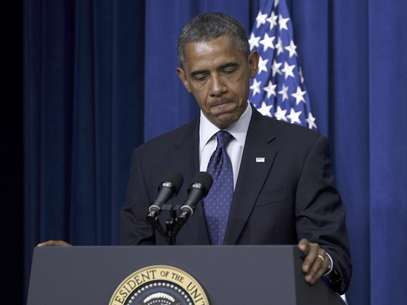 Barack Obama durante un discurso en el edificio Eisenhower de la Casa Blanca en Washington el miércoles 30 de mayo de 2012.  Foto: Pablo Martinez Monsivais / AP