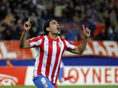 Falcao fue figura con el Atlético de Madrid en la temporada 2011-2012  Foto: AFP