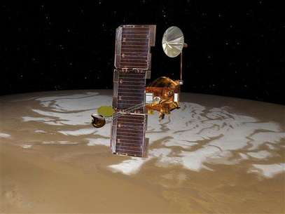 La sonda Mars Odyssey, en problemas. Foto: AP