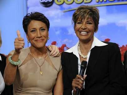 Robin Roberts and Sally Ann Roberts. Foto: ABC