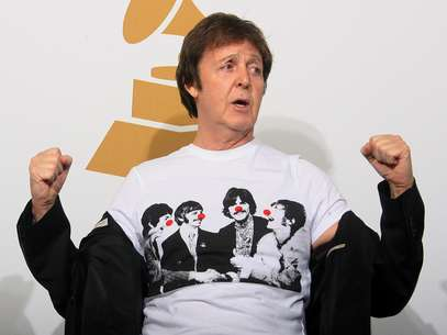 Paul McCartney cumple 70 años Foto: AFP