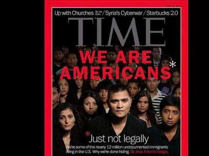 La portada de la revista Time, que pone de manifesto la problemática de los inmigrantes en Estados Unidos sin documentos. Foto: DIFUSIÓN