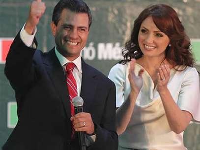 """Angélica Rivera, la bella actriz esposa del nuevo presidente mexicano protagonizó en 1993 la novela """"Sueño de Amor"""". Foto: AFP"""