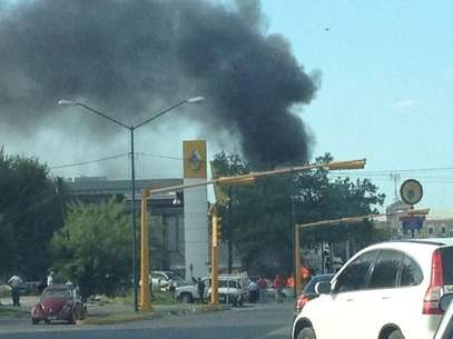 El pasado 7 de junio explotó otro coche bomba en n Ciudad Victoria, Tamaulipas y la noticia se difundió a través de las redes sociales. Foto: Twitter