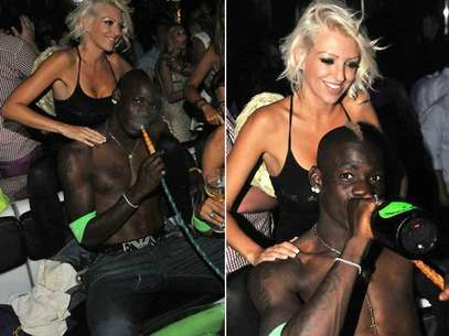 Balotelli has been spending his vacation just as we expected.  Foto: reproduction