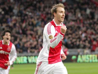 Christian Eriksen of Ajax during the Dutch Eredivisie match between Ajax Amsterdam and ADO Den Haag at the Amsterdam Arena on December 18, 2011 in Amsterdam, Netherlands. Foto: Getty Images