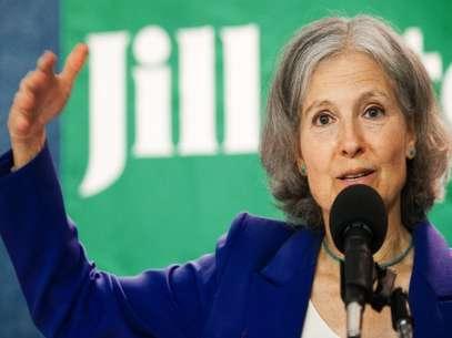 Stein eligió como su candidata a vicepresidenta a Cheri Honkala, una madre soltera que fue indigente en el pasado y ahora es activista contra la pobreza. Foto: Getty Images