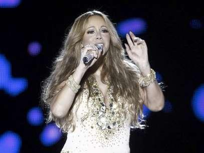 Mariah Carey canta el 26 de mayo del 2012 en el Festival de Mawazine en Rabat, Marruecos. Carey será honrada como Icono de la BMI el 7 de septiembre del 2012 en Beverly Hills, California.  Foto: Abdeljalil Bounhar, Archivo / AP