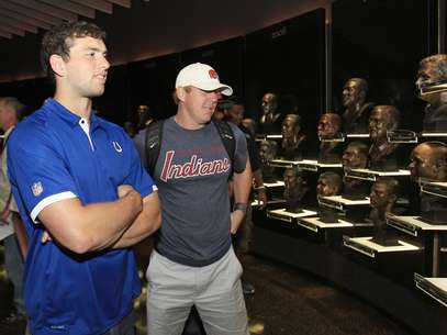 Andrew Luck has finally signed a contract with the Inidianapolis Colts.  Foto: AP in English