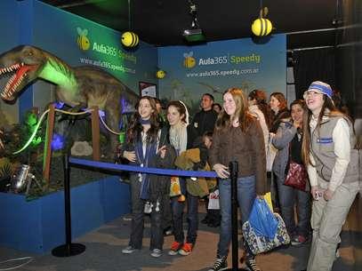Para revivir la época de los dinosaurios Foto: AULA365 SPEEDY