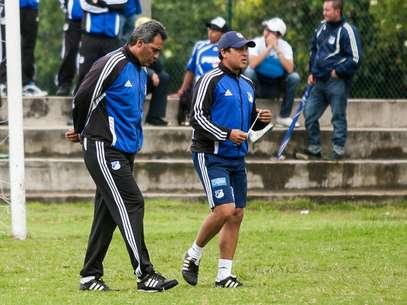 Hernán Torres aún no sabe quién jugará por Osorio ante Inti Gas. Foto: John Paz / Terra