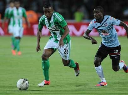 John Freddy Pajoy fue figura durante el segundo partido de la Superliga en Atlético Nacional Foto: Terra