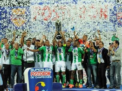 Atlético Nacional a comienzos de semestre jugó la final de la Superliga Postobón, la cual le ganó al Junior de Barranquilla. Foto: Terra