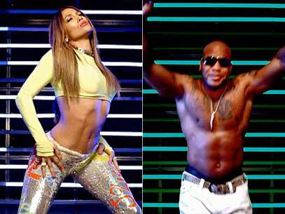 J. Lo y Flo-Rida enseñan mucha piel en video 'Goin' In'. Foto: Video Oficial