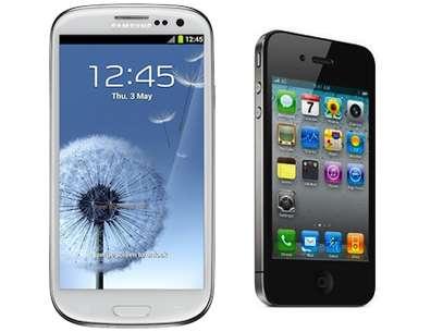 La batalla por las patentes entre Samsung y Apple sigue vigente. Foto: reproducción