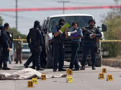 Ciudad Juárez, disputada por los cárteles de Sinaloa y de Juárez, registró el año pasado cerca de 2.000 homicidios y en 2010 la cifra superó los 3.100. Foto: Getty Images