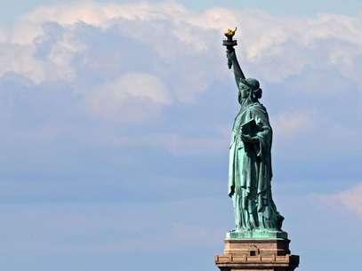 Imagen de la Estatua de la Libertad en Nueva York. Foto: Getty Images