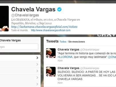 A través de Twitter se ha dado a conocer el fallecimiento de la artista mexicana Foto: Terra