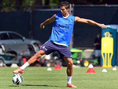 Cristiano Ronaldo during a training session at UCLA in Los Angeles Foto: Getty Images