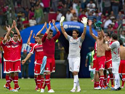 Toluca took the lead in the Apertura 2012.  Foto: Mexsport