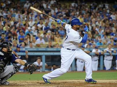 Matt Kemp has regained his rhythm with the LA Dodgers. Foto: AP in English