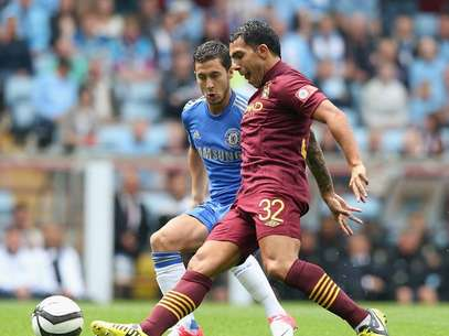 Carlos Tevez scored a cracker in the Community Shield.  Foto: Getty Images