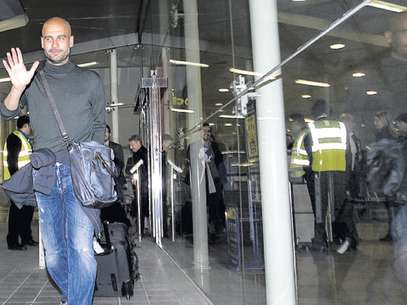 Pep Guardiola hopes to gain some anonymity in New York. Foto: Sport