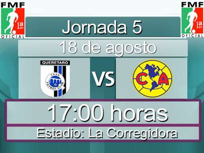 Querétaro vs. América Foto: Terra