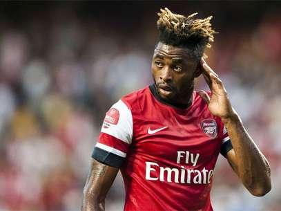 Wesley Song, durante un partido con el Arsenal Foto: Terra