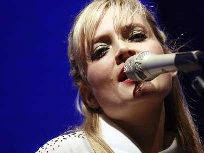 Nicole interpretó el tema principal de la teleserie Foto: Agencia Uno