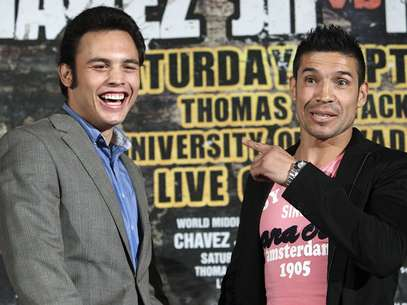 Chavez Jr. wants to prove that he is the legitimate champion of the middleweight division. Foto: Getty Images