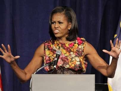 Michelle Obama ahora busca el apoyo de las mujeres para la campaña de su esposo. Foto: AP