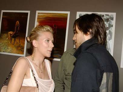 Scarlett Johansson y Jared Leto. Foto: Getty Images.