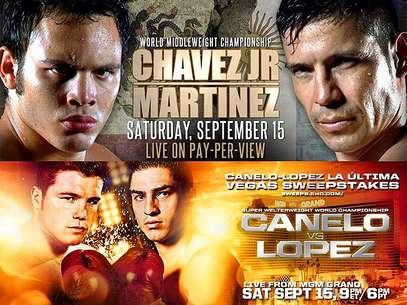 Una noche de boxeo mexicano en Las Vegas este 15 de septiembre del 2012 Foto: Especial / Terra