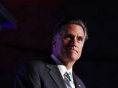 U.S. Republican presidential nominee and former Massachusetts Governor Mitt Romney addresses the U.S. Hispanic Chamber of Commerce in Los Angeles, California, September 17, 2012. Foto: Jim Young / Reuters In English