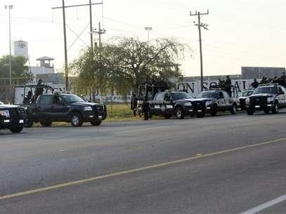 La cárcel de Piedras Negras, en la frontera entre México y EEUU. Foto: AP
