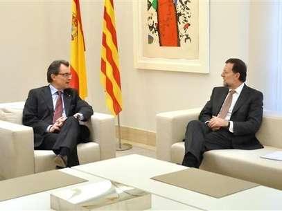 Mariano Rajoy y Artur Mas, en su última reunión. Foto: MONCLOA