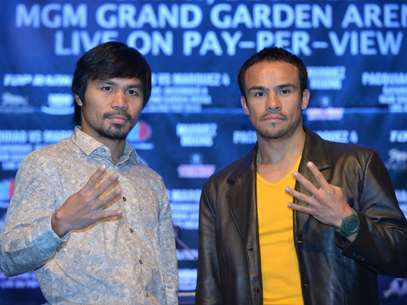 Marquez and Pacquiao have both said they will go for the knockout on their fourth and final fight.  Foto: Getty Images