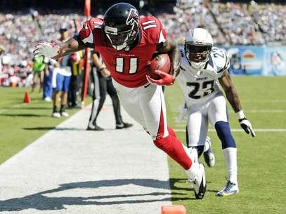 Los Halcones de Atlanta mantienen el paso perfecto en la temporada Foto: AP