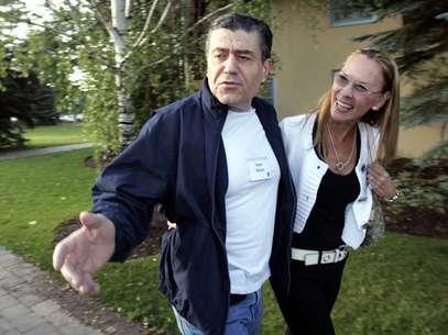 Cheryl Saban, (derecha) en una foto del 12 de julio del 2006. Foto: AP