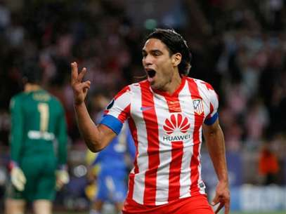 Falcao García, estrella del Atlético de Madrid Foto: AP