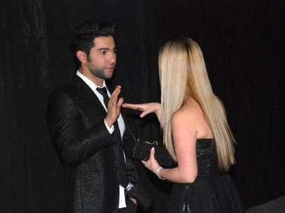 El distanciamiento durante las finales de 'Protagonistas de Nuestra Tele 2' entre Edwin y Manuela fue evidente. Foto: TWITTER