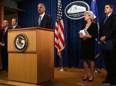 En Washington, el fiscal general Eric Holder insinuó que la investigación estaba en marcha a pesar de la demora para enviar agentes del FBI a Bengasi. Foto: Getty Images