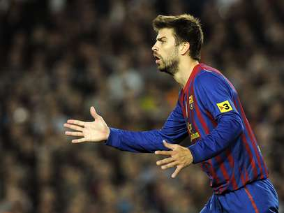 Gerard Pique didn't stay quiet on the subject of Real Madrid coach Jose Mourinho. Foto: AFP
