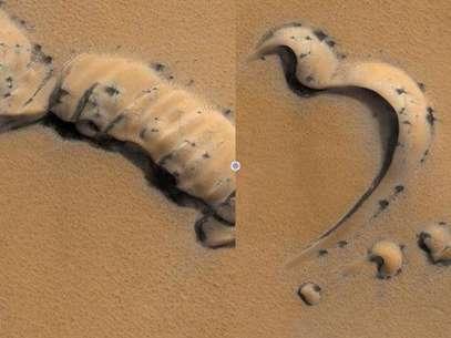 Difunden imágenes de objetos extraños en Marte Foto: Michael Benson / NASA