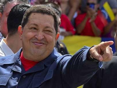 Chávez ganó con el 54,4%, mientras Capriles se quedó rezagado con un 44,9%. Foto: Getty Images