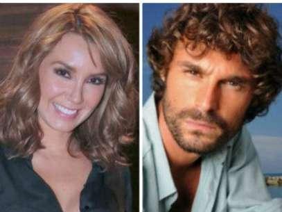 Foto: ¿Nueva pareja? Elizabeth Gutiérrez y 'El Gallego' harían novela en Argentina / Mezcalent / Terra
