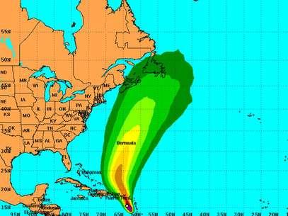 Se pronostica que la tormenta Rafael cobre fuerza. Foto: NOAA