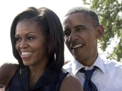 Foto del 7 de septiembre del 2012 del presidente Barack Obama y su esposa Michelle en Portsmouth, Nueva Hampshire.  Foto: Carolyn Kaster / AP