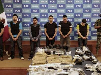 En los últimos meses las autoridades mexicanas han dado duros golpes al narco. Foto: AFP